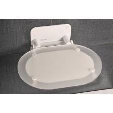 Сиденье Ravak Crome Clear/White